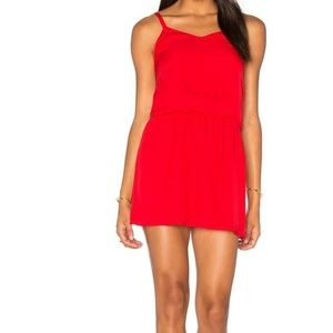 Haute Hippie The Exit Strategy Red mini Dress